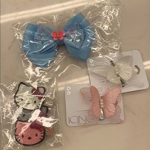 Little girl hair bows - new in package